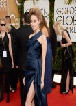 Amber Heard at Golden Globe Awards, January 2014