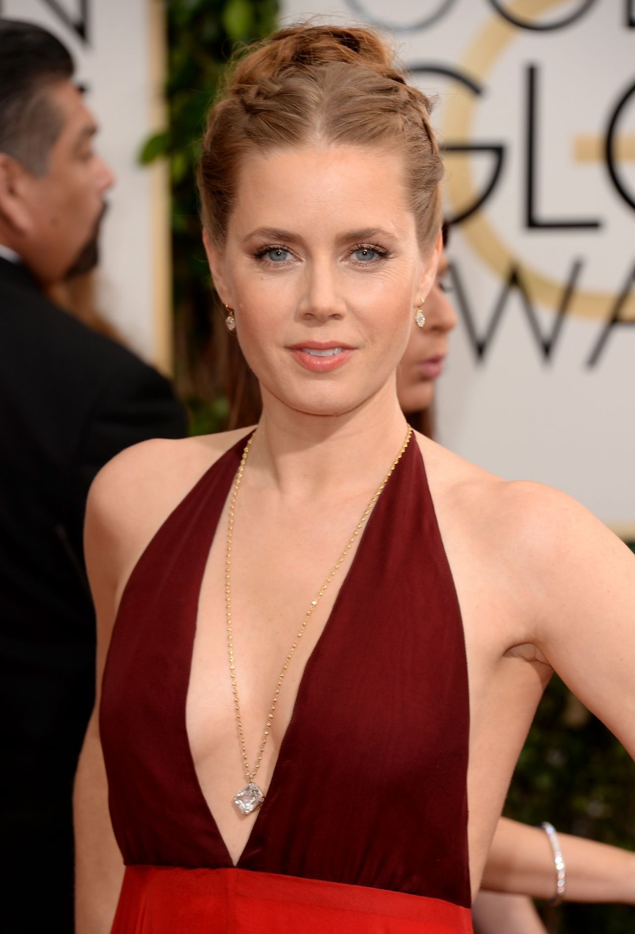 Amy Adams In Valentino at 71st Annual Golden Globe Awards ...