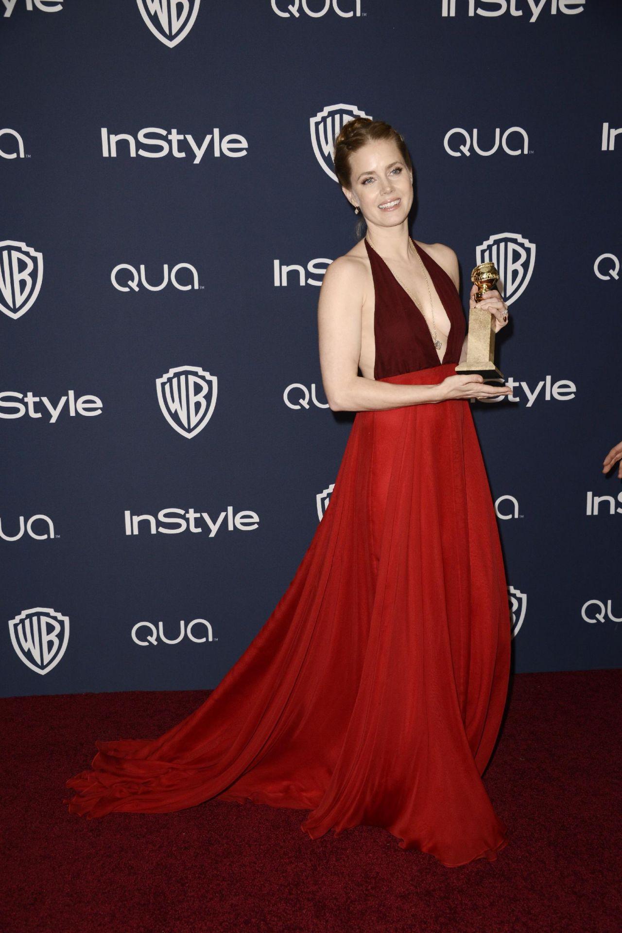 Amy Adams Instyle Amp Warner Bros 2014 Golden Globe