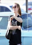 Amy Adams Street Style - Out in West Hollywood, January 2014