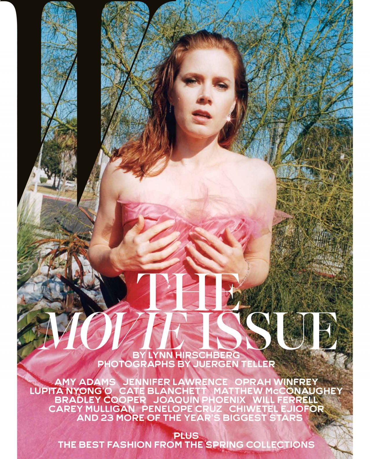 Amy Adams - W Magazine - February 2014 Issue