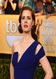 Amy Adams Wears Antonio Berardi Dress at 2014 SAG Awards