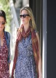 Amy Smart Street Style - Out for Lunch - Madeo in West Hollywood, January 2014