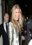 Amy Willerton and Kimberley Garner - Leaving Arts Club London - January 2014