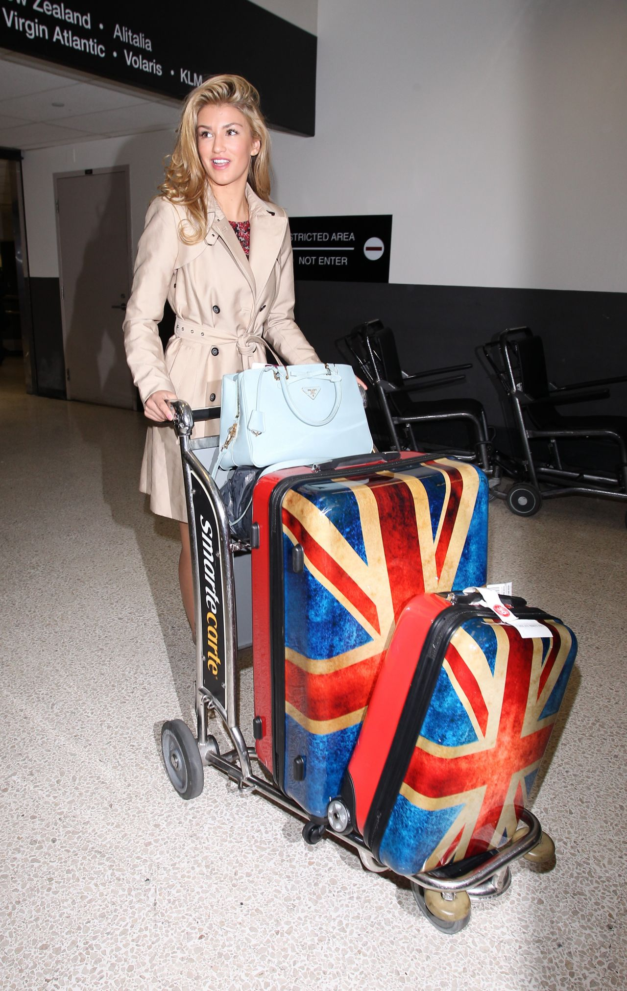 Amy Willerton Street Style - LAX Airport, January 2013