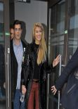 Amy Willerton Style - at BBC In London - January 2014