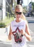 Amy Willerton - Training for the London Marathon With a Jog Around Los Angeles, Jan. 2014