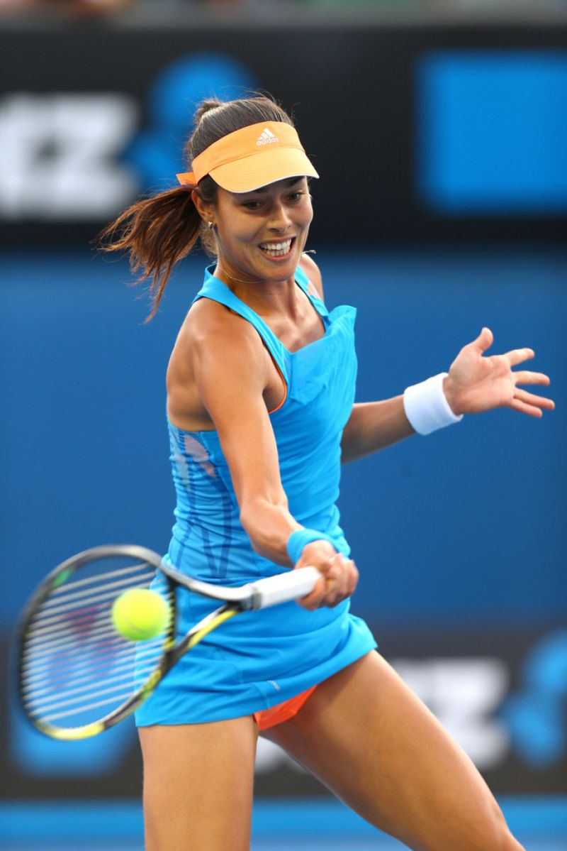 Ana Ivanovic Australian Open In Melbourne January 15 2014