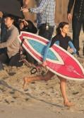 Anastasia Ashley - Bikini Candids Filming Budweiser Commercial - LA
