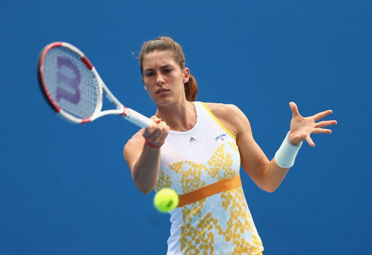 Andrea Petkovic - Australian Open - January 16, 2014