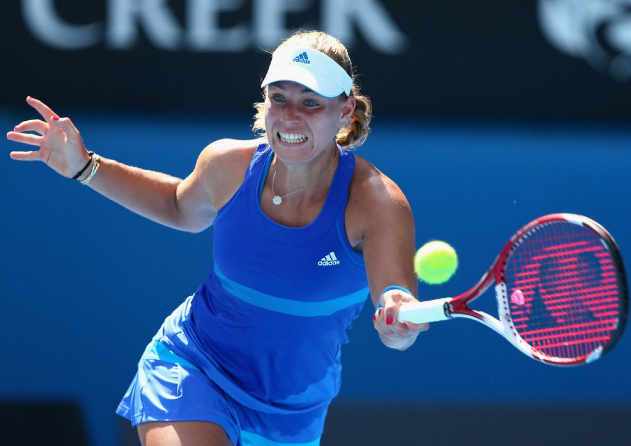 Angelique Kerber - Australian Open in Melbourne, January 15, 2014