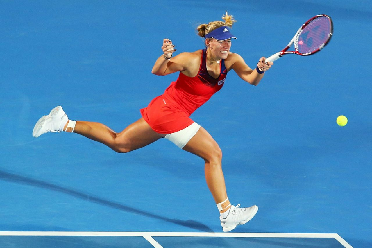 Angelique Kerber - Sydney International, January 2014