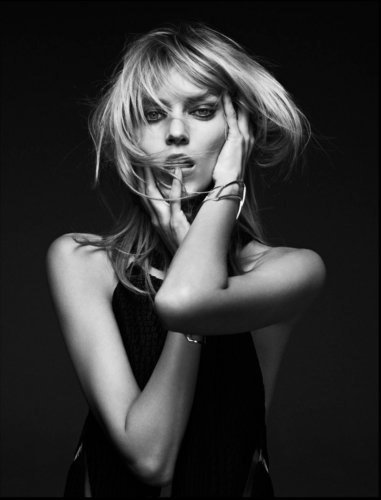 Anja Rubik Photoshoot by Barnaby Roper (2013)