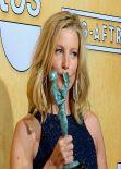 Anna Gunn Wears Monique Lhullier - SAG Awards, January 2014