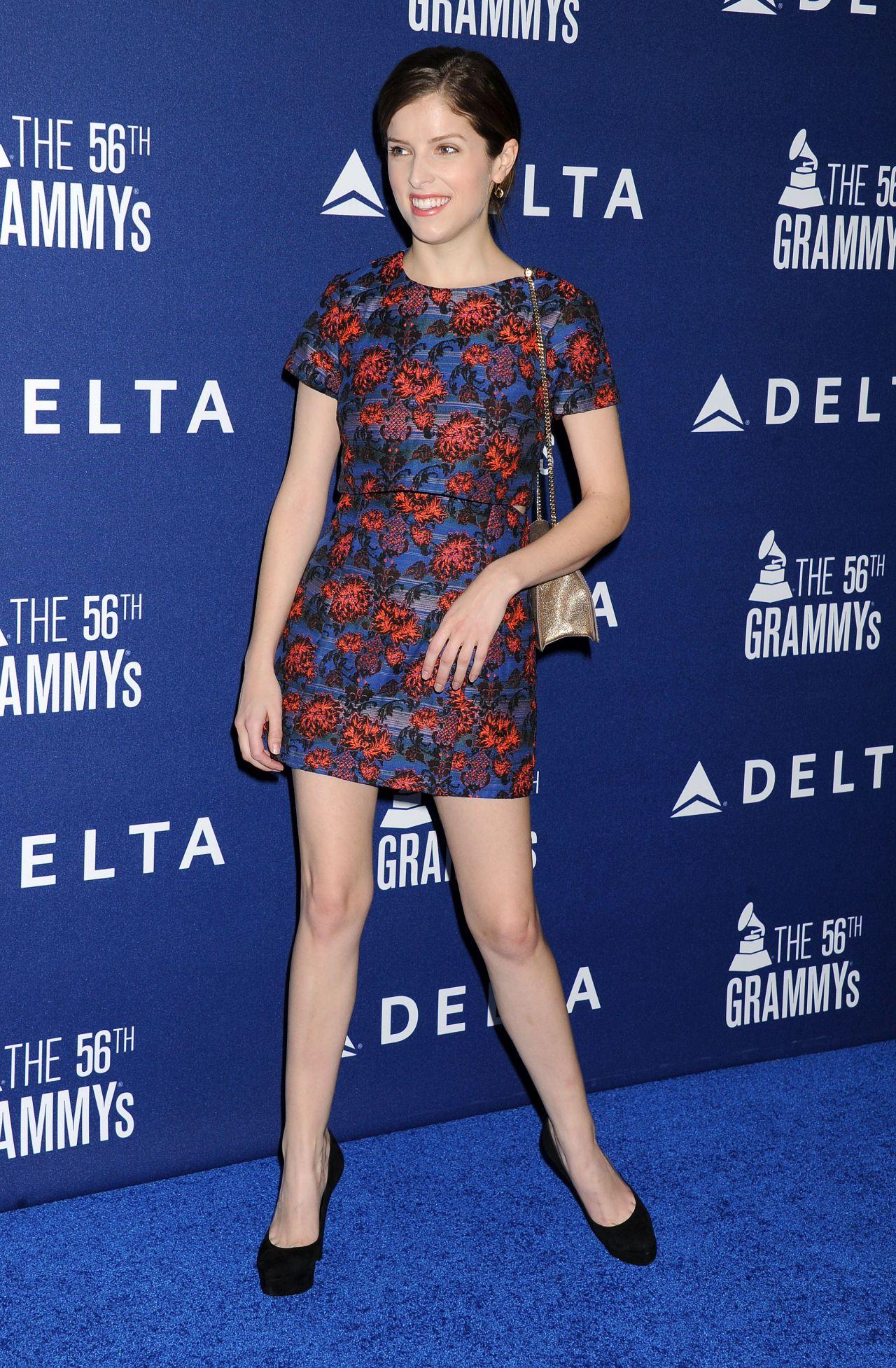 Anna Kendrick at Delta Air Lines 2014 Grammy Weekend Reception