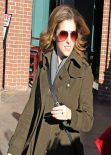 Anna Kendrick Street Style Candids - Out in Park City, January 2014
