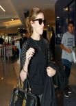 Anna Kendrick Street Style - LAX Airport, January 2014