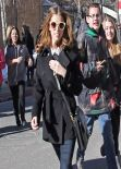 Anna Kendrick Street Style - Park City, January 20, 2014