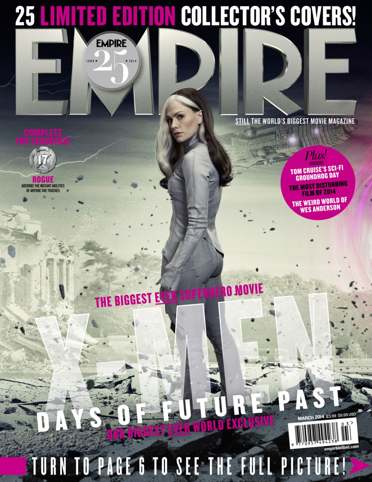 Anna Paquin - EMPIRE Magazine - March 2014 Issue