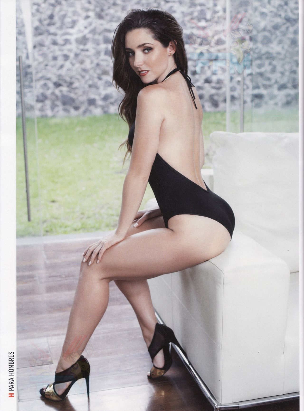 Ariadne Díaz - H PARA HOMBRE Magazine (Mexico) - January 2014 Issue