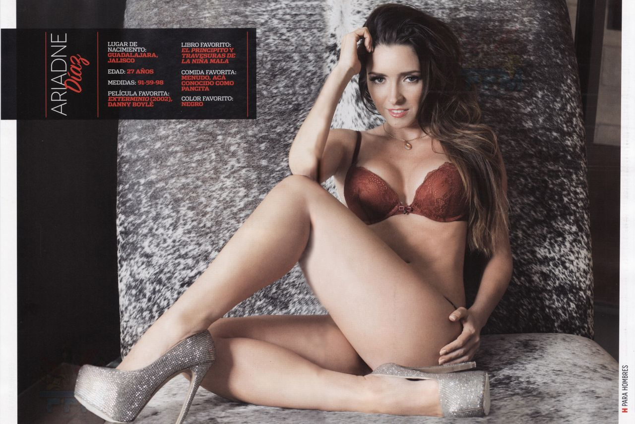 Ariadne D&237az – H PARA HOMBRES Magazine Mexico January 2014