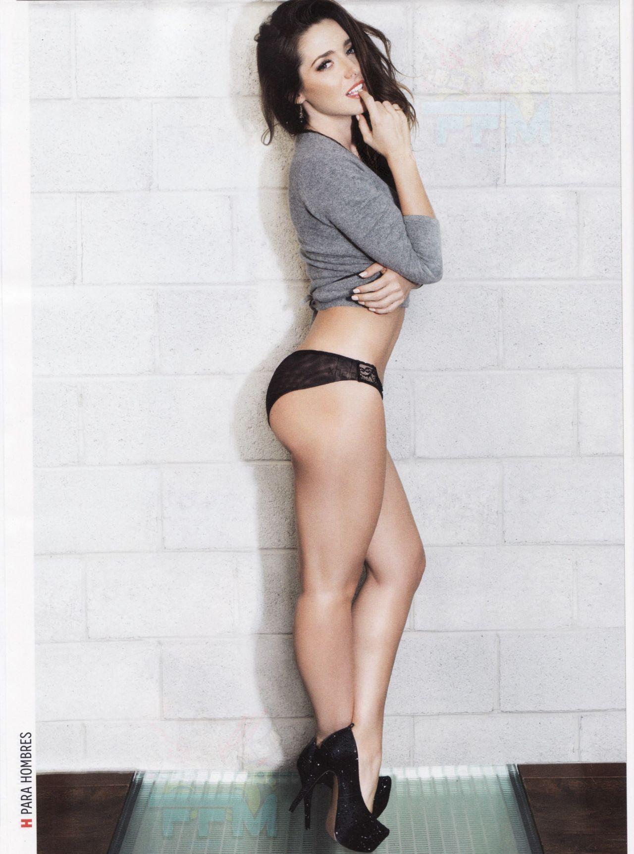 Ariadne Díaz – H PARA HOMBRES Magazine (Mexico) – January 2014 ...
