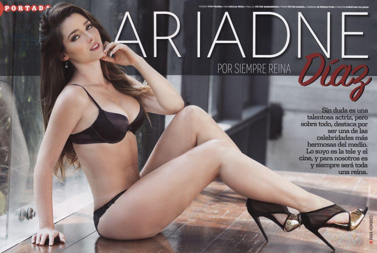 ... Hombres ariadne díaz - h para hombres magazine (mexico) - january