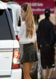 Ariana Grande has Pretty Legs - West Hollywood (2013)