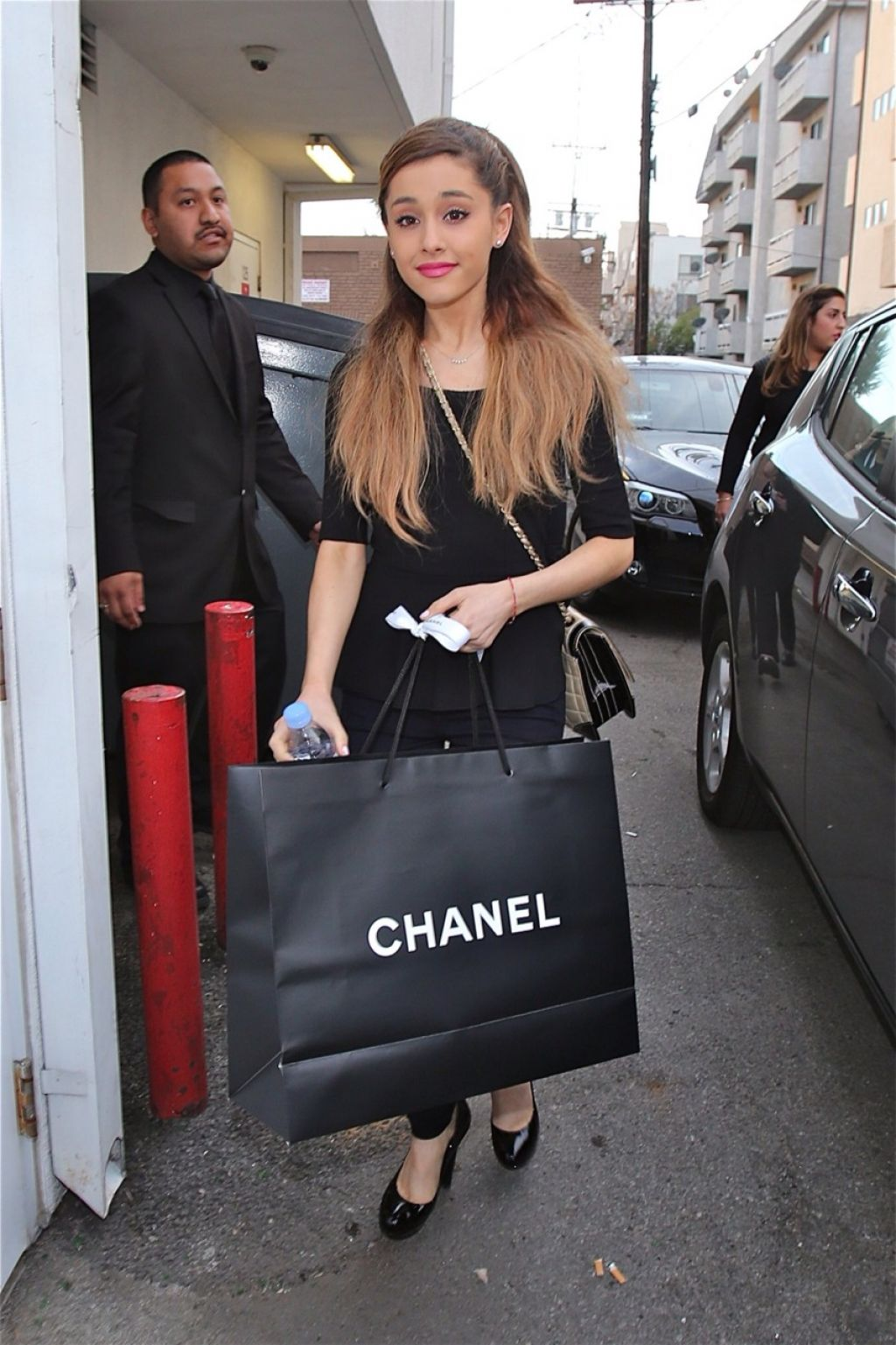 Ariana Grande Shopping At Chanel Hollywood
