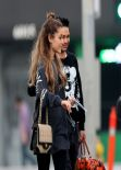 Ariana Grande Street Style - Leaves a Recording Studio in Hollywood - January 2014