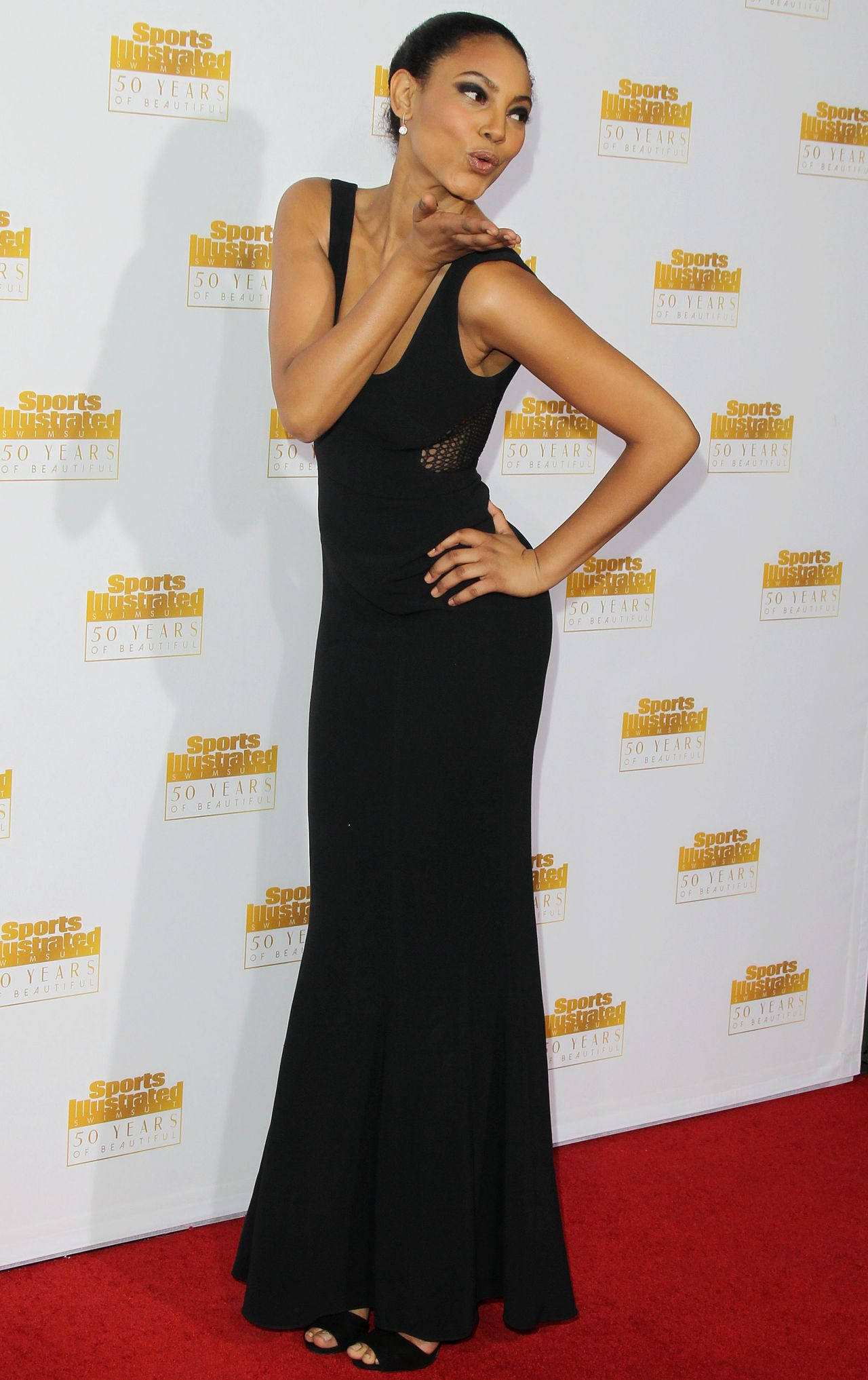 Ariel Meredith - 50th Anniversary of the SI Swimsuit Issue Celebration, January 2014