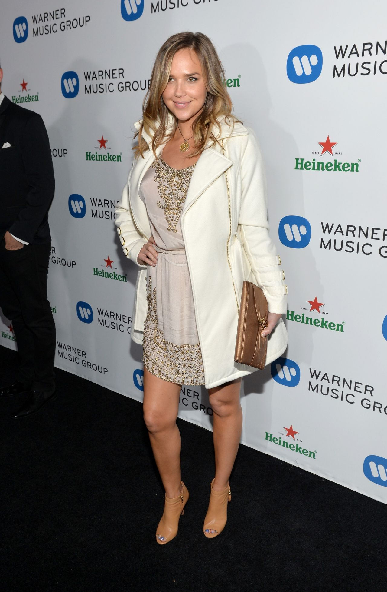 Arielle Kebbel - Warner Music Group Annual GRAMMY Celebration, Los Angeles January 2014