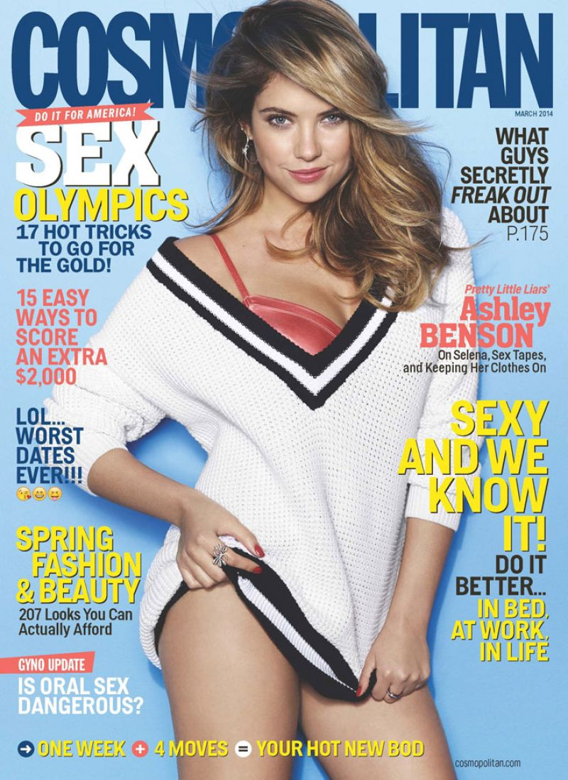 Ashley Benson - COSMOPOLITAN Magazine - March 2014 Issue