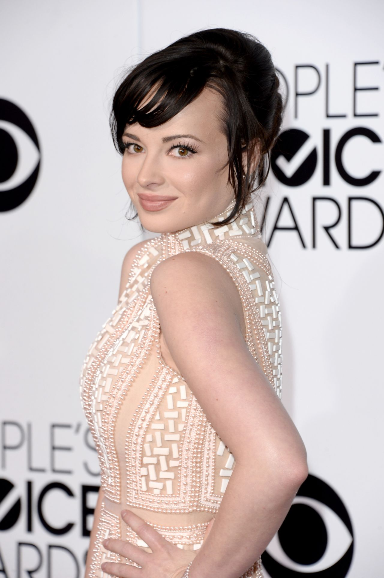 Ashley Rickards - 2014 People's Choice Awards