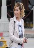 Ashley Tisdale in Jeans - West Hollywood, January 2014