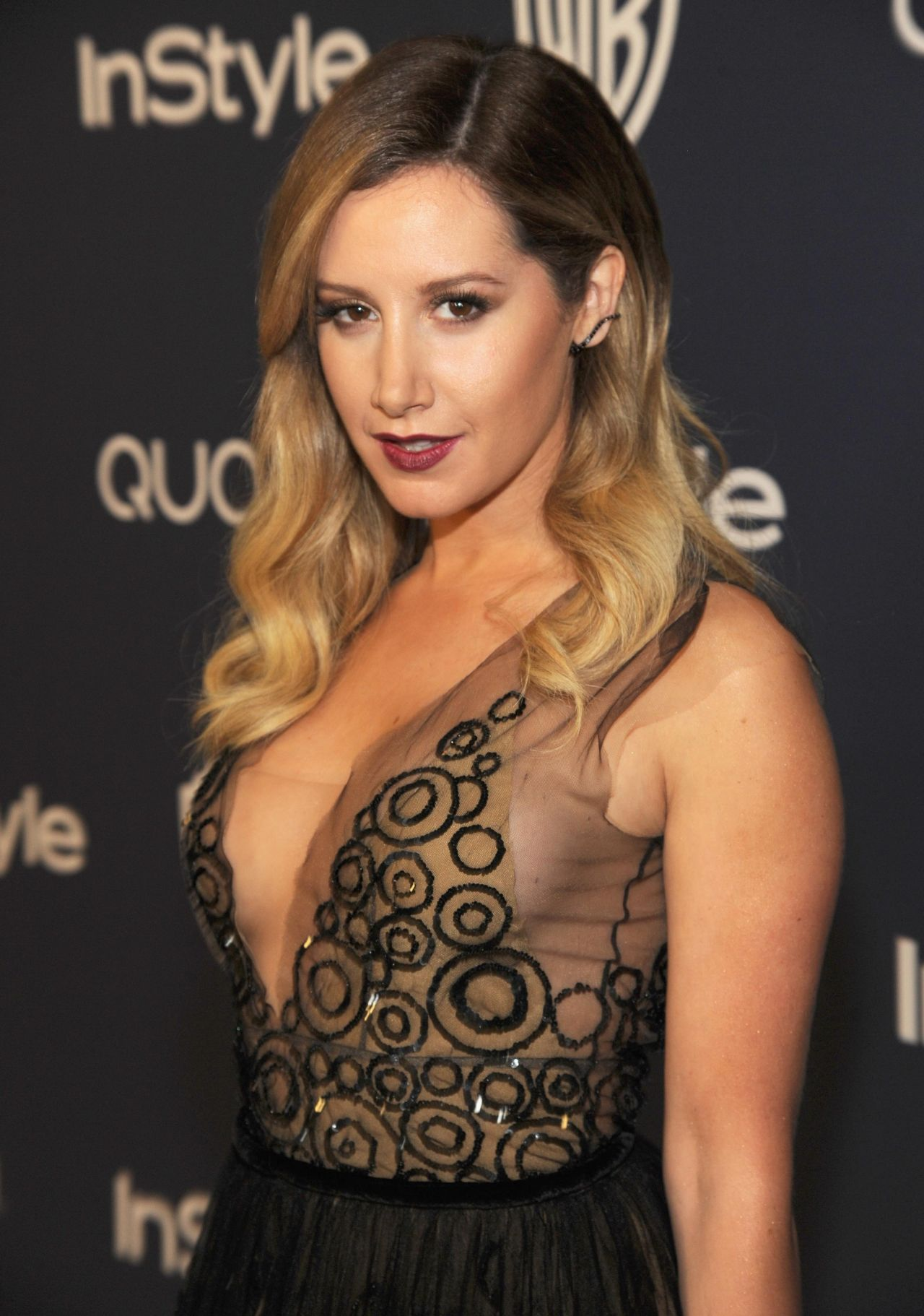 Ashley Tisdale - InStyle and Warner Bros. 2014 Golden Globes After Party in Beverly Hills