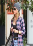 Ashley Tisdale Street Style - Out in West Hollywood, January 2014