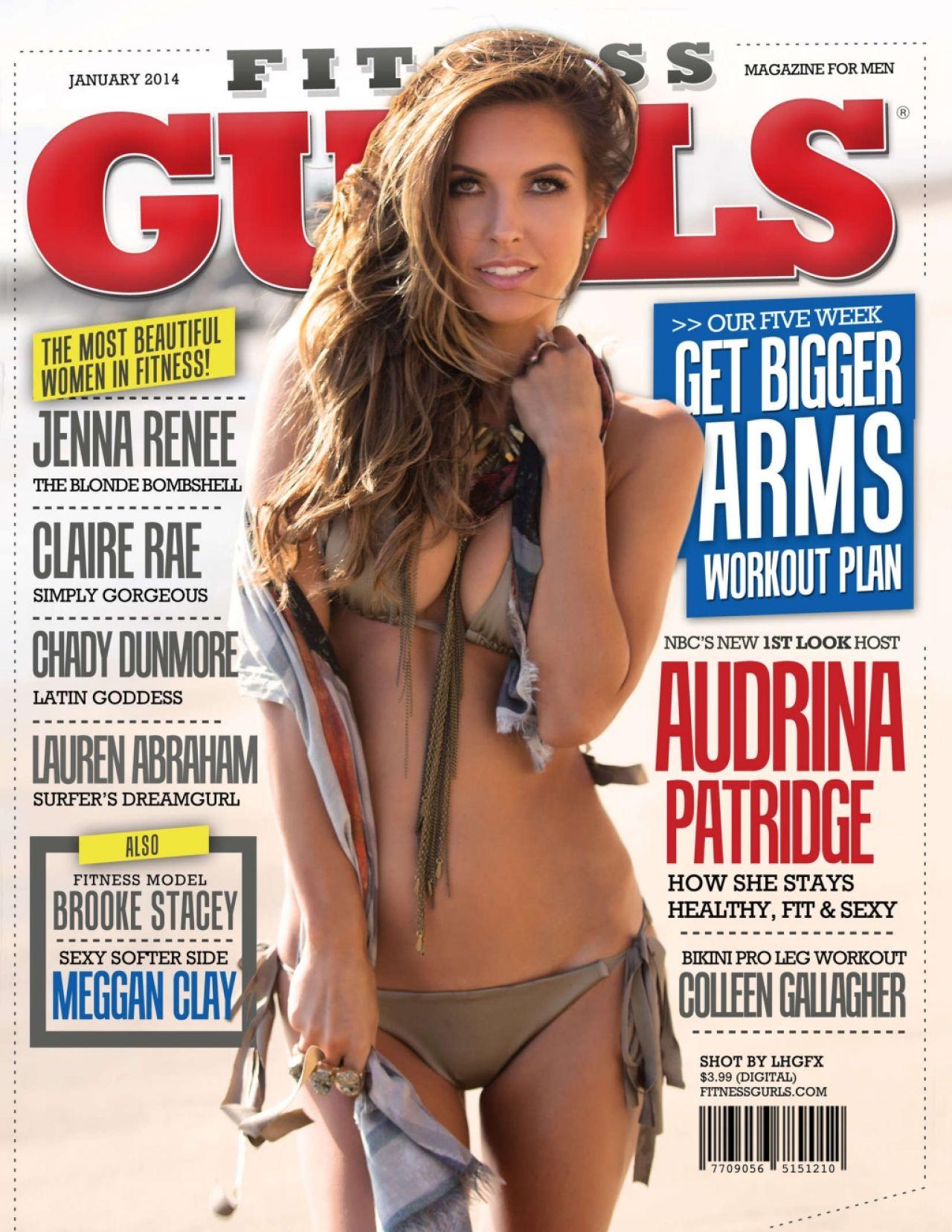 Audrina Patridge - FITNESS GURLS Magazine (USA) - January 2014 Issue