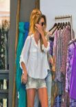 Audrina Patridge Street Style - Shopping in Beverly Hills - January 2014
