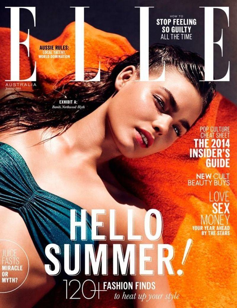 Bambi Northwood-Blyth - ELLE Magazine (Australia) - January 2014 Issue