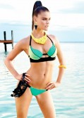 Nina Agdal Bikini Photoshoot - Beach Bunny Swimwear - Spring 2014 Collection