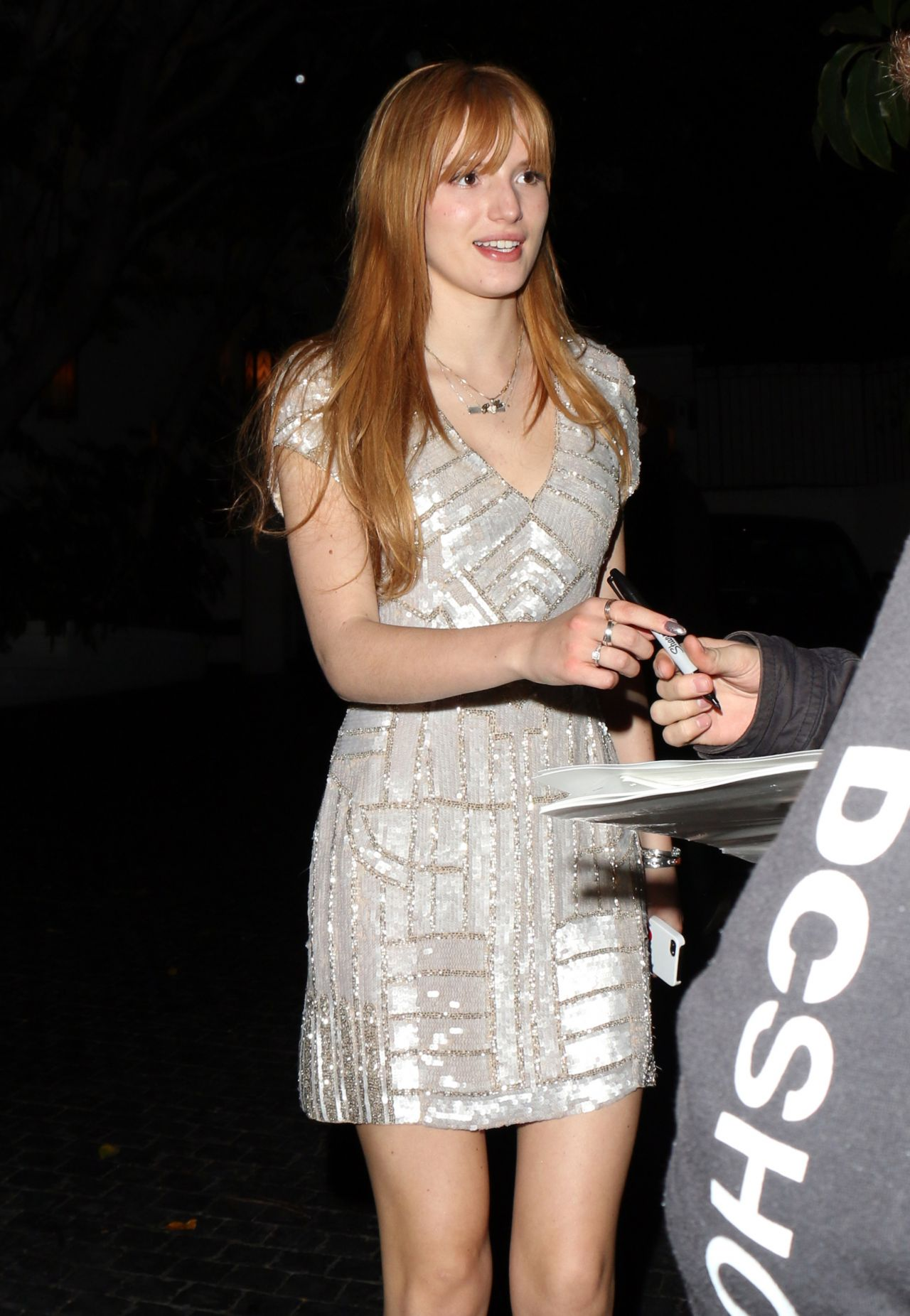 Bella Thorne - Chateau Marmont in West Hollywood, Jan 2014