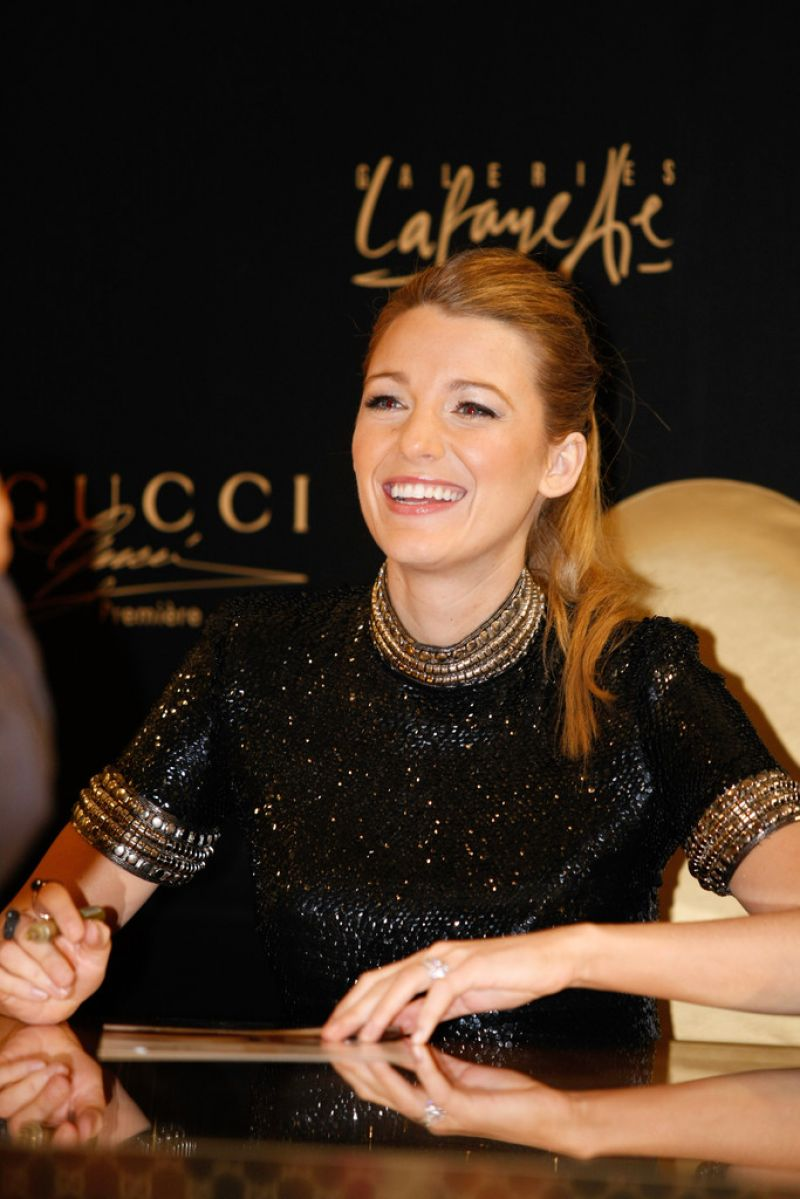 Blake Lively Attends the