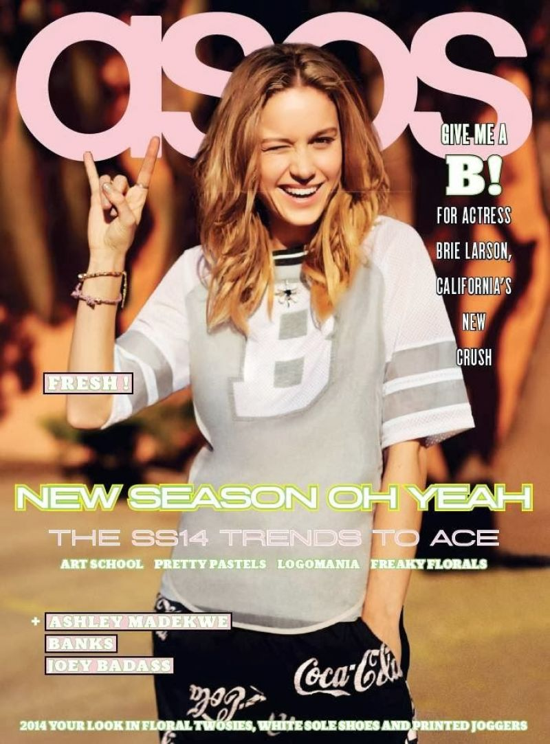 Brie Larson Asos Magazine February 2014 Issue