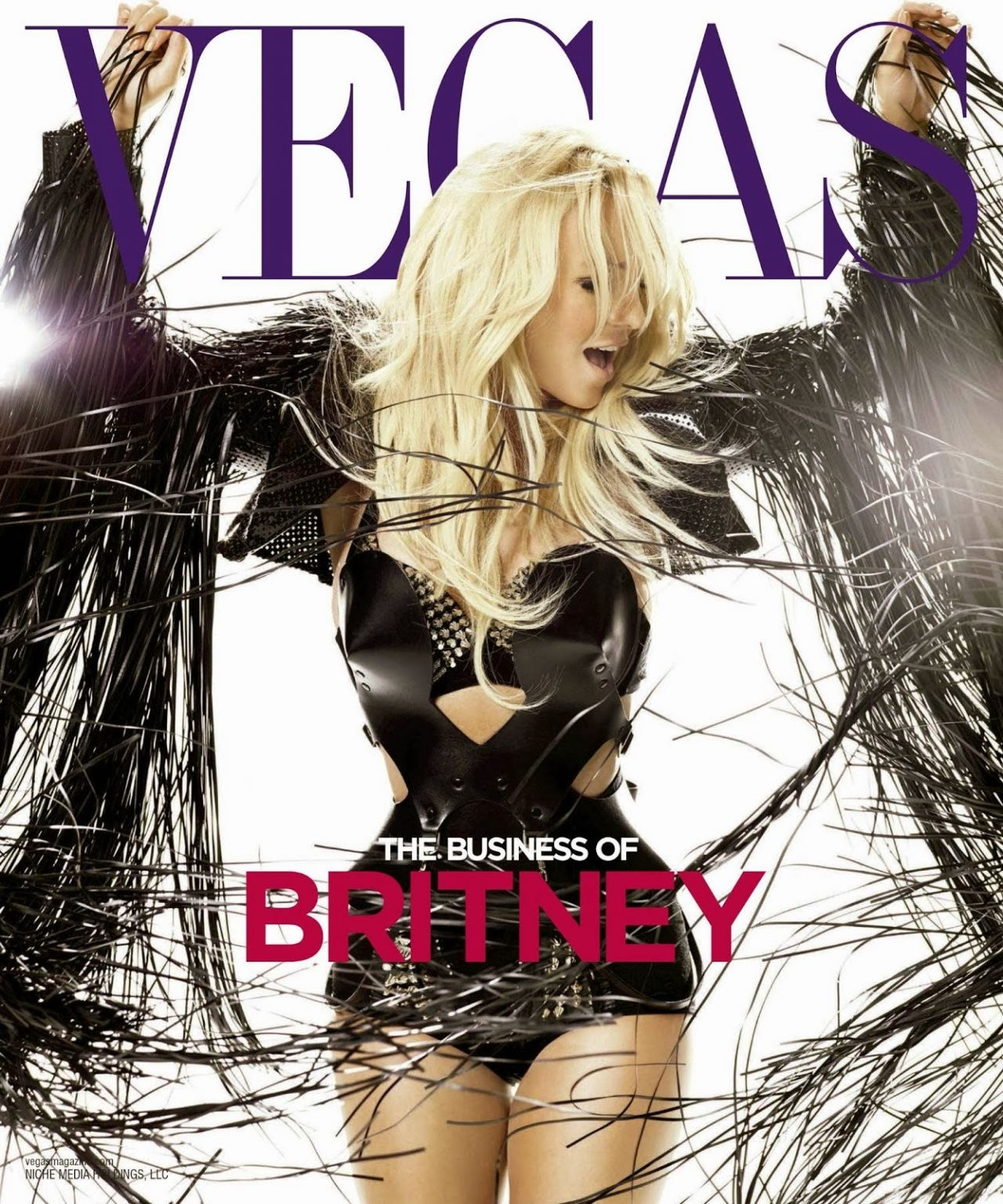 Britney Spears - VEGAS Magazine (EUA) - February 2014 Cover