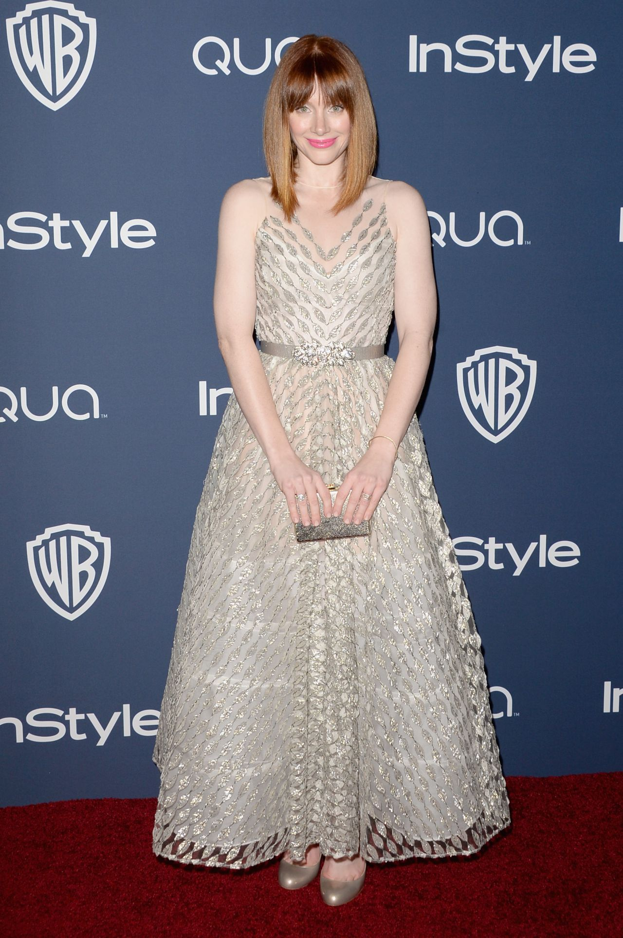 Bryce Dallas Howard - InStyle & Warner Bros. Golden Globes Afterparty, January 2014