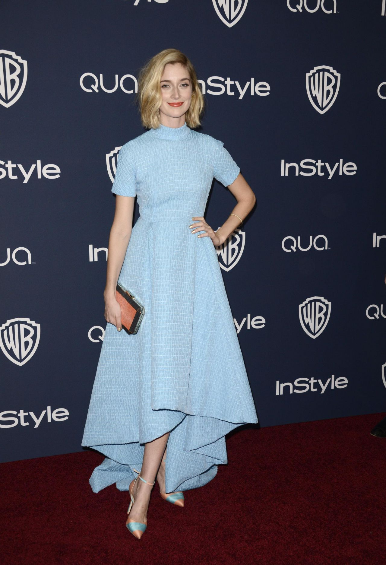 Caitlin Fitzgerald - InStyle & Warner Bros. 2014 Golden Globe Awards Post-Party