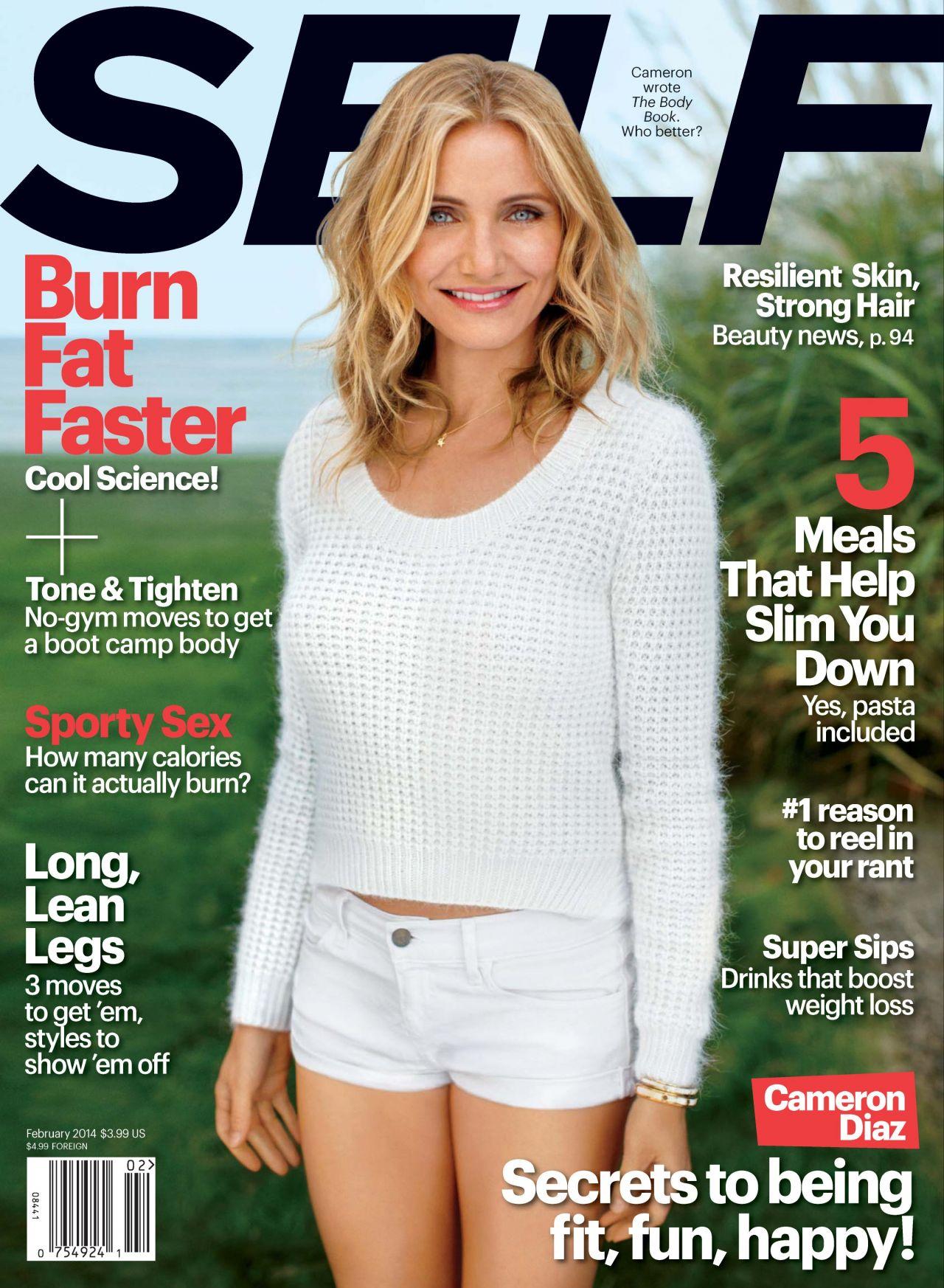 Cameron Diaz - SELF Magazine - February 2014 Cover