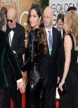 Camila Alves - 2014 Golden Globe Awards