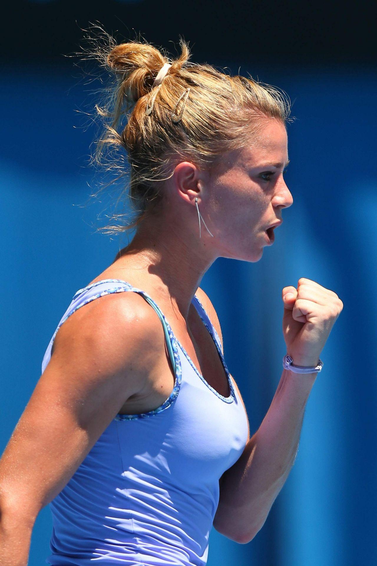 Camila Giorgi Australian Open January 16 2014